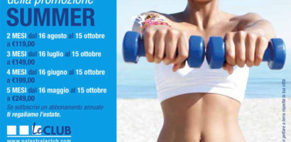 Promo estate Palestra Le Club